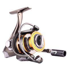 Hiumi DM Series 5.2:1 12 1Full Metal Spinning Fishing Reel