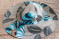 Have some fun in the sun with this fabulous Sun Hat. This floppy sun hat pattern is a great, versatile way to make your own hat for sunny days at the beach.