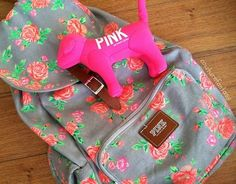 Victoria's Secret PINK Backpack & Dog
