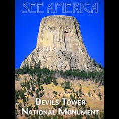 Devils Tower National Monument by Zack Frank  #SeeAmerica