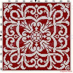 ru / Фото - Le Filet Ancien V - gabbach Cross Stitch Cushion, Cross Stitch Art, Cross Stitch Samplers, Cross Stitch Designs, Cross Stitch Patterns, Tapestry Crochet Patterns, Fair Isle Knitting Patterns, Knitting Charts, Knitting Stitches