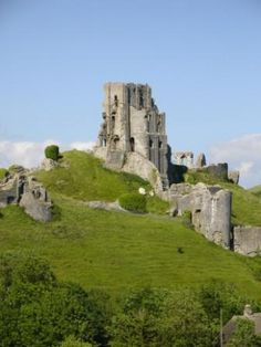 Corfe Castle ~ This is an amazing ruin. Hours can be spent exploring here!
