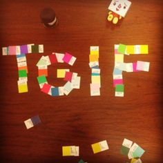 TGIF! #ditlad - creative carries colors (@mme443) Photo we entered for a contest at work :)