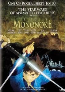 "Mononoke Hime - Gorgeous art, realistic characters.  Link to a pretty good review.  *amused*  The critic who hailed this as ""the Star Wars of Animated Features"" on the front cover of the American DVD have clearly never seen Star Wars...that or they've not watched it nor this anime closely."