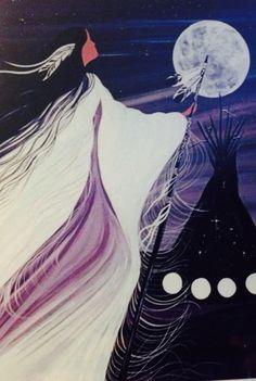 November woman Native American Artwork, Native American Crafts, American Indian Art, Pics Art, Art Pictures, Fusion Art, Southwestern Art, Indigenous Art, Native Art