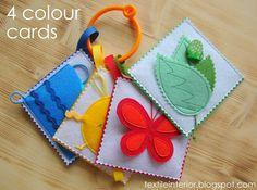 "textileinterior: Карточки ""Четыре цвета"""