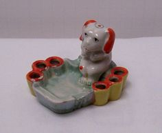 Vintage puppy Cigarette snuffer/ashtray