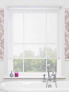 Vista White Magic Screen Roller Blind from Blinds 2go