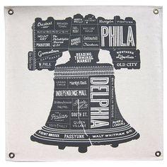 Philadelphia, Typography