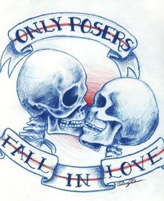 Only posers fall...