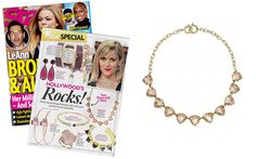 Star Magazine - April 2014 featuring the Somervell Necklace-Peach by Stella & Dot