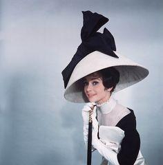 Huge My Fair Lady Hat