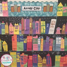 """Connect math and art to the """"real world"""" with this array city project."""