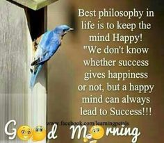 Happiness lead to success