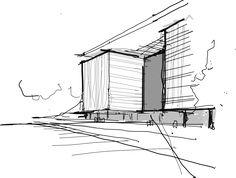 Concurso Público de Arquitetura | 2014 - Anexo Sede BNDES - RJ | croqui