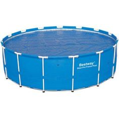 BestwaySolar Pool Cover, 15', Blue