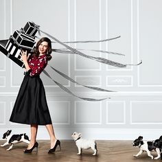 We're unwrapping a season full of sparkly surprises (hint:  there will be puppies!)  #whbm #givebeautifully #holiday