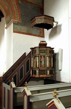 Fjenneslev, Sjælland, pulpit