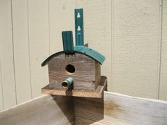 New bird house idea, so cute! Will be selling at Just Fabulous, in Gardnerville, Nevada