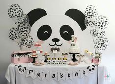 This panda party is so lovely! -See more Panda Party ideas on B. Lovely Events This panda party is so lovely! -See more Panda Party ideas on B. Lovely Events This panda party is so lovely! -See more Panda Party ideas on B. Panda Party, Panda Themed Party, Bear Party, Panda Birthday Cake, Baby Birthday, 10th Birthday, Birthday Party Decorations, Party Themes, Birthday Parties