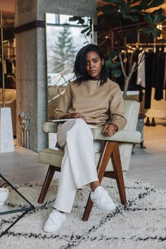 With Berlin Fashion Week in effect this week, we chat with one of its most stylish new residents, editor Alyse Archer-Coité, about what she wears to the office.