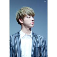 """""""© 10SECONDS   Do not edit. """"   Jin   Pinterest ❤ liked on Polyvore featuring bts, jin, kpop and seokjin"""