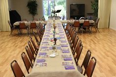 Maundy Thursday Soup Supper and Tenebrae Service set-up 2010