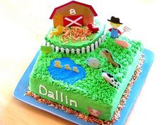 """Cute cake but, who the hell names their kid """"Dallin""""?!"""