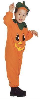 Kürbis #Halloweenkostüm Kinder