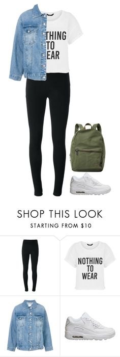 """Lori"" by charlotteh2001 ❤ liked on Polyvore featuring Givenchy, Steve J & Yoni P, NIKE and Herschel Supply Co."