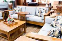 Amish Furniture Store, locally made and customizeable to fit your style. Four floors displaying Shipshewana Amish furniture for every room. Amish Furniture, Furniture Making, Modern Furniture, Types Of Wood, Your Style, Couch, Flooring, Traditional, Living Room