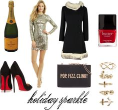 Holiday Sparkle: what to wear for New Years Eve #NYE