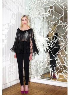 Fringe Necklace, All Things, Women's Tops, Colour, Stuff To Buy, Beauty, Fashion, Fashion Styles, Color