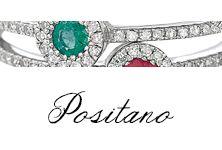 #Bibigi #Anelli, #Collane, #Orecchini in #oro bianco e #diamanti,#smeraldi, #zaffiro e #rubini