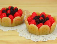 Sabonete Torta de Frutas Vermelhas