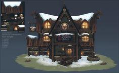 'The Dragon's Perch' Tavern - Polycount Forum