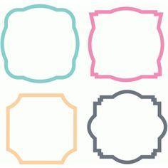 Silhouette Design Store - Search Designs : square