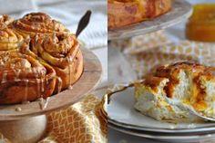 Kürbis Zimtschnecken - pumpkin cinnamon rolls <3