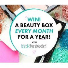 Win 12 Look Fantastic beauty boxes ^_^ http://www.pintalabios.info/en/fashion-giveaways/view/en/3092 #UK #Cosmetic #bbloggers #Giweaway