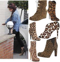 Trend Alert: Leopard Print Ankle Boots