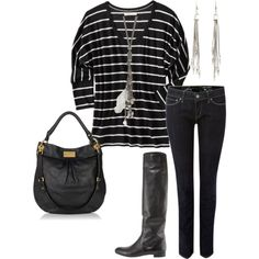 can't wait for fall to wear this exact outfit minus the Marc bag...of course I really want it.