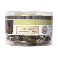 Apothecary & Company™ Decorative LED Crystal GarlandApothecary & Company Decorative LED Crystal Garland