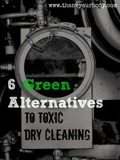 Green dry cleaning alternatives