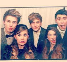 British youtubers - Marcus Butler, Zoella, ThatcherJoe, Sprinkle of glitter, and Alfie
