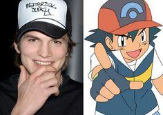 Keď sa celebrity podobajú na Pokémonov,alebo naopak?