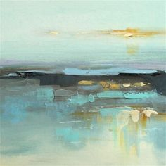 "Daily Paintworks - ""Landscape 383"" - Original Fine Art for Sale - © Ewa Kunicka"