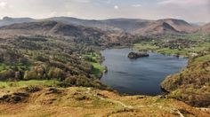 Grasmere from Loughrigg Fell, one of the best views in all of Lakeland. Tackle the short climb to the summit and you will also be rewarded with fabulous views of the Langdale Pikes to the east.