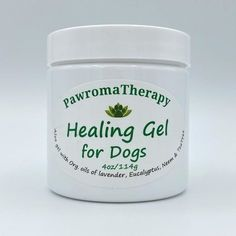Our Best Selling Product! Healing Gel for Dogs is an all-natural, aloe vera pet care gel created by holistic veterinarian, Dr. Deneen Fasano. Handmade with all natural ingredients and essential oils. A natural dog balm in a clear, non-greasy gel. Makes a great gift for a dog lover in your life.