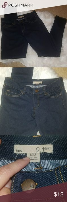 NWOT F21 jeggings Never worn..only washed once. Look new. Forever 21, size medium jeggings. Forever 21 Jeans