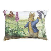 """""""Peter Rabbit"""" ACCENT PILLOW"""
